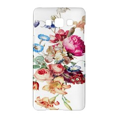 Fleur Vintage Floral Painting Samsung Galaxy A5 Hardshell Case  by Celenk