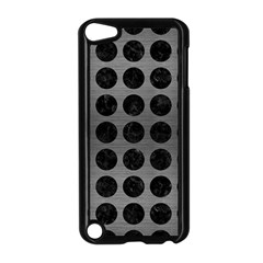 Circles1 Black Marble & Gray Brushed Metal Apple Ipod Touch 5 Case (black) by trendistuff
