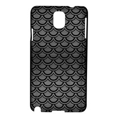 Scales2 Black Marble & Gray Brushed Metal Samsung Galaxy Note 3 N9005 Hardshell Case by trendistuff