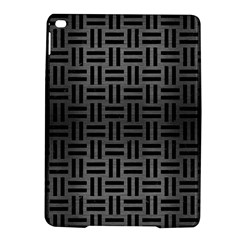 Woven1 Black Marble & Gray Brushed Metal Ipad Air 2 Hardshell Cases by trendistuff