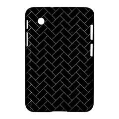 Brick2 Black Marble & Gray Denim (r) Samsung Galaxy Tab 2 (7 ) P3100 Hardshell Case  by trendistuff