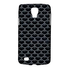 Scales3 Black Marble & Gray Denim (r) Galaxy S4 Active by trendistuff