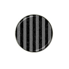 Stripes1 Black Marble & Gray Denim Hat Clip Ball Marker (10 Pack) by trendistuff