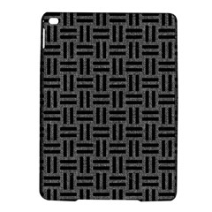 Woven1 Black Marble & Gray Denim Ipad Air 2 Hardshell Cases by trendistuff
