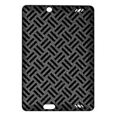 Woven2 Black Marble & Gray Denim Amazon Kindle Fire Hd (2013) Hardshell Case by trendistuff