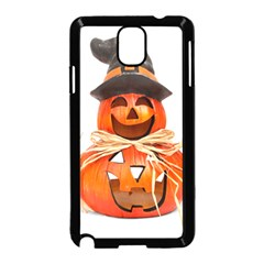 Funny Halloween Pumpkins Samsung Galaxy Note 3 Neo Hardshell Case (black) by gothicandhalloweenstore