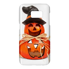 Funny Halloween Pumpkins Samsung Galaxy S7 Hardshell Case  by gothicandhalloweenstore