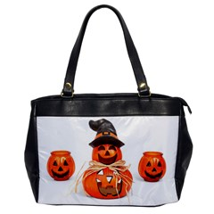 Funny Halloween Pumpkins Office Handbags by gothicandhalloweenstore