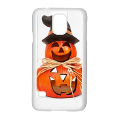 Funny Halloween Pumpkins Samsung Galaxy S5 Case (white) by gothicandhalloweenstore