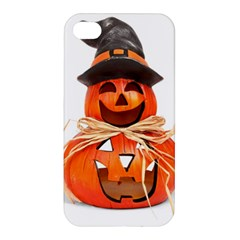 Funny Halloween Pumpkins Apple Iphone 4/4s Premium Hardshell Case by gothicandhalloweenstore