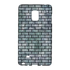 Brick1 Black Marble & Ice Crystals Galaxy Note Edge by trendistuff