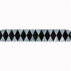 Diamond1 Black Marble & Ice Crystals Small Bar Mats by trendistuff