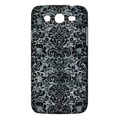 Damask2 Black Marble & Ice Crystals Samsung Galaxy Mega 5 8 I9152 Hardshell Case  by trendistuff