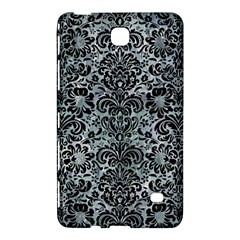 Damask2 Black Marble & Ice Crystals Samsung Galaxy Tab 4 (7 ) Hardshell Case  by trendistuff