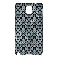Scales2 Black Marble & Ice Crystals Samsung Galaxy Note 3 N9005 Hardshell Case by trendistuff