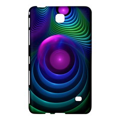 Beautiful Rainbow Marble Fractals In Hyperspace Samsung Galaxy Tab 4 (8 ) Hardshell Case  by beautifulfractals