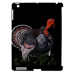 Thanksgiving Turkey Apple Ipad 3/4 Hardshell Case (compatible With Smart Cover) by Valentinaart