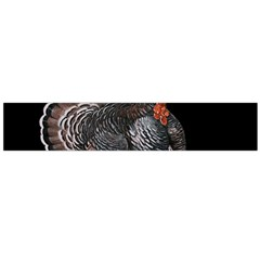 Thanksgiving Turkey Large Flano Scarf  by Valentinaart