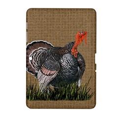 Thanksgiving Turkey Samsung Galaxy Tab 2 (10 1 ) P5100 Hardshell Case  by Valentinaart