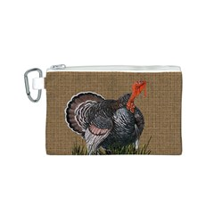 Thanksgiving Turkey Canvas Cosmetic Bag (s) by Valentinaart