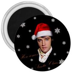 Elvis Presley   Christmas 3  Magnets by Valentinaart