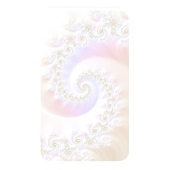 Mother Of Pearls Luxurious Fractal Spiral Necklace Memory Card Reader by beautifulfractals