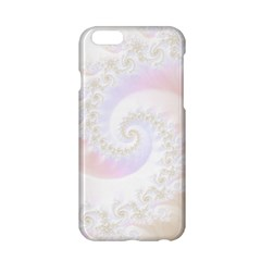 Mother Of Pearls Luxurious Fractal Spiral Necklace Apple Iphone 6/6s Hardshell Case by beautifulfractals