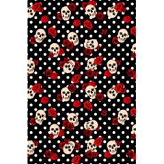Skulls And Roses 5 5  X 8 5  Notebooks by Valentinaart