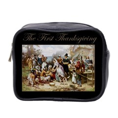 The First Thanksgiving Mini Toiletries Bag 2 Side by Valentinaart
