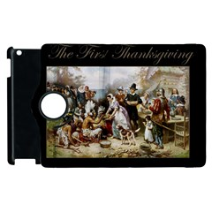 The First Thanksgiving Apple Ipad 3/4 Flip 360 Case by Valentinaart