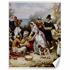 The First Thanksgiving Canvas 18  X 24   by Valentinaart