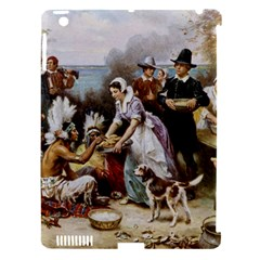 The First Thanksgiving Apple Ipad 3/4 Hardshell Case (compatible With Smart Cover) by Valentinaart