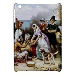 The First Thanksgiving Apple Ipad Mini Hardshell Case by Valentinaart