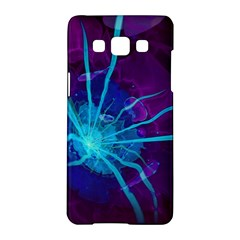 Beautiful Bioluminescent Sea Anemone Fractalflower Samsung Galaxy A5 Hardshell Case  by beautifulfractals