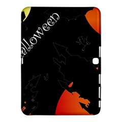 Castil Witch Hlloween Sinister Night Home Bats Samsung Galaxy Tab 4 (10 1 ) Hardshell Case  by Alisyart