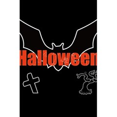 Halloween Bat Black Night Sinister Ghost 5 5  X 8 5  Notebooks by Alisyart