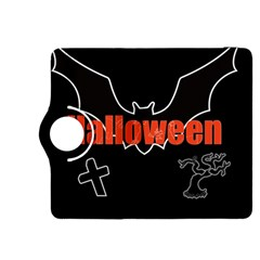 Halloween Bat Black Night Sinister Ghost Kindle Fire Hdx 8 9  Flip 360 Case by Alisyart