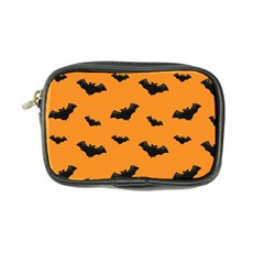 Halloween Bat Animals Night Orange Coin Purse by Alisyart