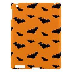 Halloween Bat Animals Night Orange Apple Ipad 3/4 Hardshell Case by Alisyart