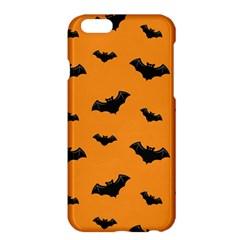 Halloween Bat Animals Night Orange Apple Iphone 6 Plus/6s Plus Hardshell Case by Alisyart