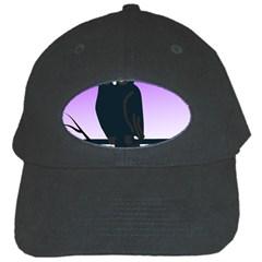 Halloween Owl Bird Animals Night Black Cap by Alisyart
