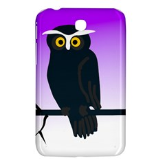Halloween Owl Bird Animals Night Samsung Galaxy Tab 3 (7 ) P3200 Hardshell Case  by Alisyart