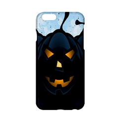 Halloween Pumpkin Dark Face Mask Smile Ghost Night Apple Iphone 6/6s Hardshell Case by Alisyart