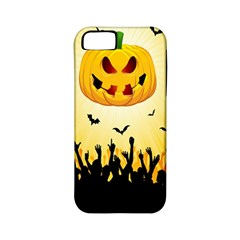 Halloween Pumpkin Bat Party Night Ghost Apple Iphone 5 Classic Hardshell Case (pc+silicone) by Alisyart