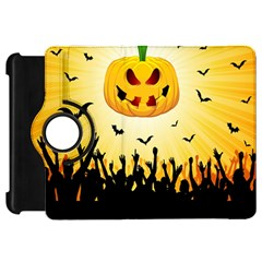 Halloween Pumpkin Bat Party Night Ghost Kindle Fire Hd 7  by Alisyart