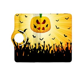 Halloween Pumpkin Bat Party Night Ghost Kindle Fire Hdx 8 9  Flip 360 Case by Alisyart