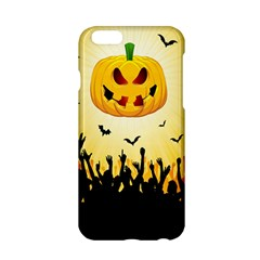 Halloween Pumpkin Bat Party Night Ghost Apple Iphone 6/6s Hardshell Case by Alisyart