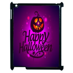 Happy Ghost Halloween Apple Ipad 2 Case (black) by Alisyart