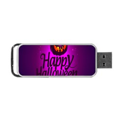 Happy Ghost Halloween Portable Usb Flash (two Sides) by Alisyart