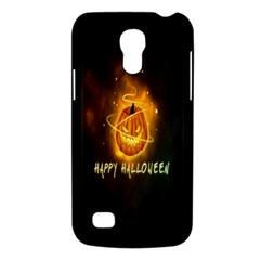 Happy Halloween Pumpkins Face Smile Face Ghost Night Galaxy S4 Mini by Alisyart